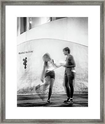 Billy Jean Framed Print