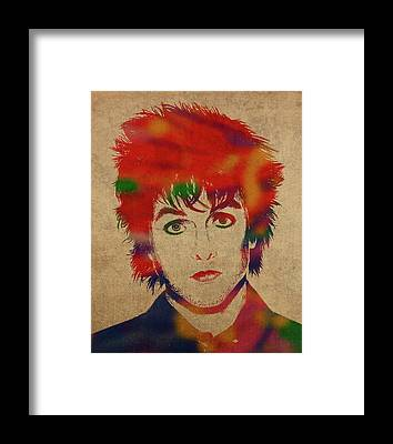 Green Day Framed Prints