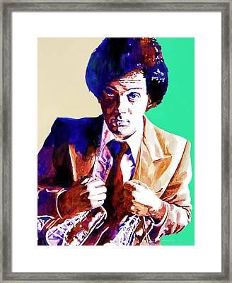 Billy Joel - New York State Of Mind Framed Print