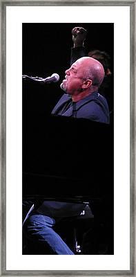 Billy Joel 4 Framed Print by Jack Dagley