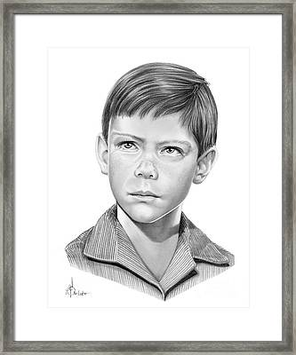 Billy Mumy Framed Print by Murphy Elliott