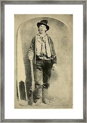Billy The Kid 1859-81, Killed Twenty Framed Print by Everett