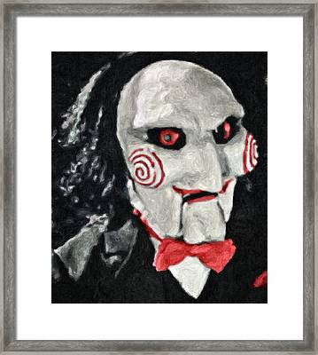 Billy The Puppet II Framed Print