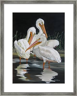 Biloxi Bayou Lullaby Framed Print by Phyllis Beiser
