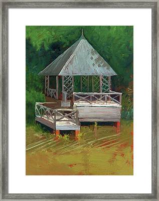 Biltmore Boathouse 2.0 Framed Print