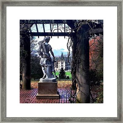 Biltmore Goddess Framed Print by Jen McKnight