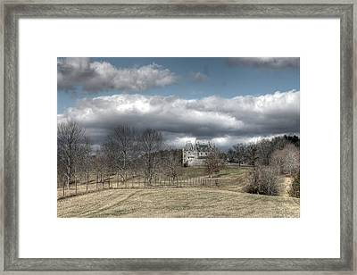 Biltmore House And Garden Asheville North Carolina Framed Print