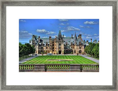 Biltmore Mansion Estate Asheville North Carolina  Framed Print