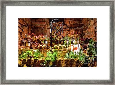 Biltmore Wine Framed Print by Savannah Gibbs