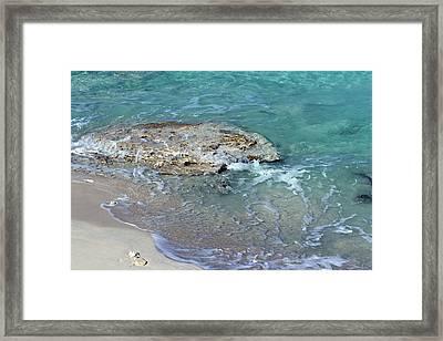Bimini After Wave Framed Print