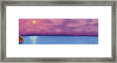 Bimini Sunrise Framed Print