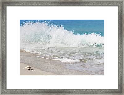 Bimini Wave Sequence 1 Framed Print