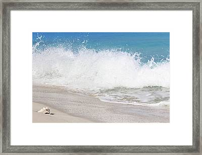 Bimini Wave Sequence 3 Framed Print