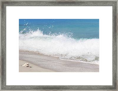Bimini Wave Sequence 4 Framed Print
