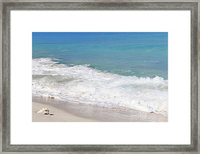 Bimini Wave Sequence 6 Framed Print