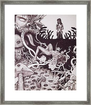 Binah Qlippoth Framed Print