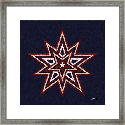 Binary Star Framed Print