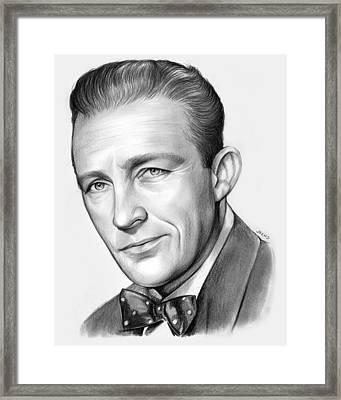 Bing Crosby Framed Print