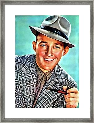 Bing Crosby, Hollywood Legend Framed Print