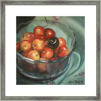 Bing Different Framed Print by Anna Rose Bain