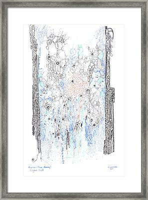 Bingham Fluid Or Paste Framed Print