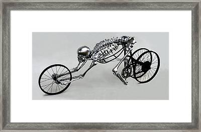 Bio Cycle Framed Print by Jud  Turner