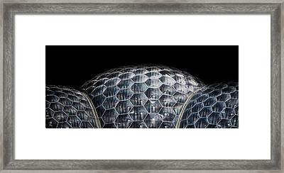 Bio Dome Framed Print by Martin Newman