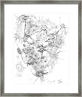 Biology Of An Idea Framed Print