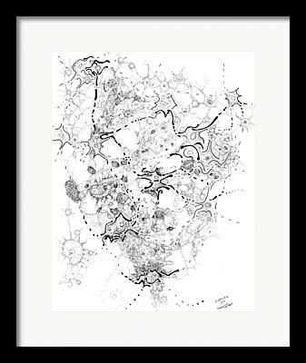 Valluzzi Drawings Framed Prints