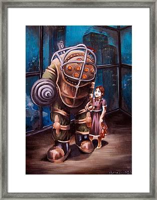 Bioshock Framed Print by Emily Jones