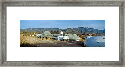 Biosphere 2, Arizona Framed Print by Panoramic Images