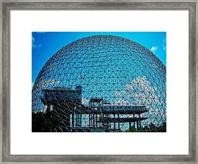 Biosphere Montreal Framed Print by Juergen Weiss