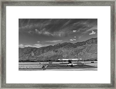 Biplane Framed Print by Benjamin Carpenter