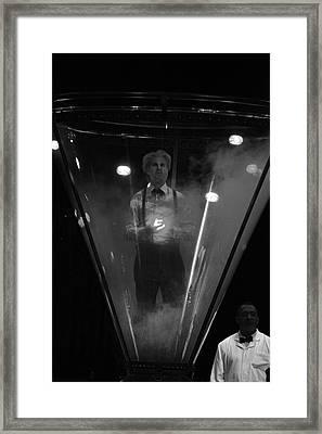 Bipolar Cage Framed Print