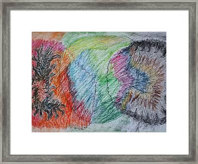 Bipolar Mind Framed Print