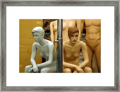 Bipolar Moods Framed Print by Jez C Self
