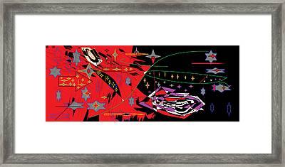 Bipolar Stars Framed Print by Sam Persons