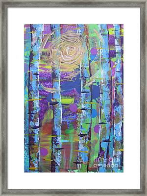 Birch 6 Framed Print