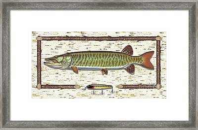 Birch Musky Framed Print by JQ Licensing