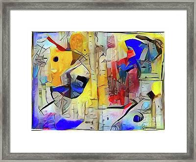 Birch Spirit Framed Print by Anthony Djordjevic