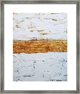 Birchwood Framed Print