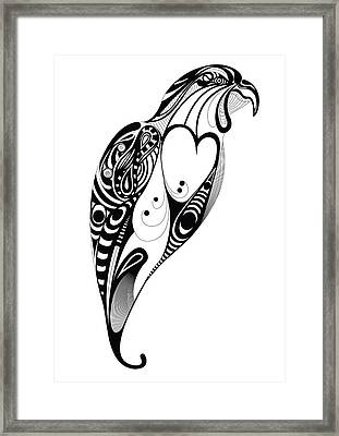 Bird Framed Print by Andreas  Leonidou