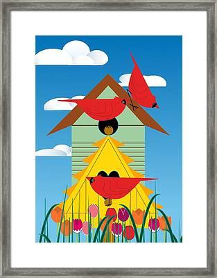 Bird Condo Framed Print