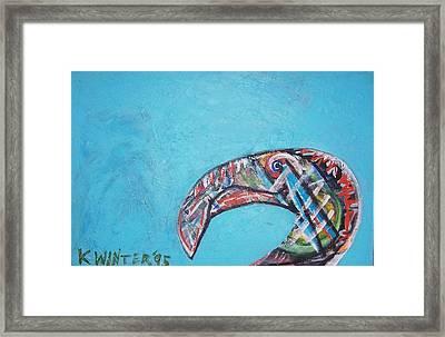 Bird Framed Print by Dave Kwinter