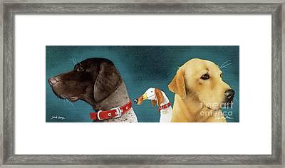 Bird Dogs... Framed Print