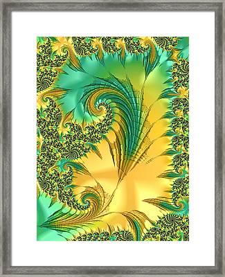 Bird Exotica Framed Print