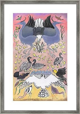 Bird Festival Framed Print