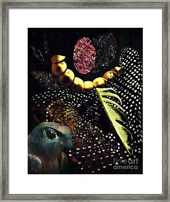 Bird God Framed Print