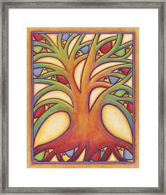 Bird House Framed Print by Mary Anne Nagy