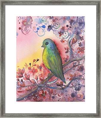 Bird In Paradise   Framed Print